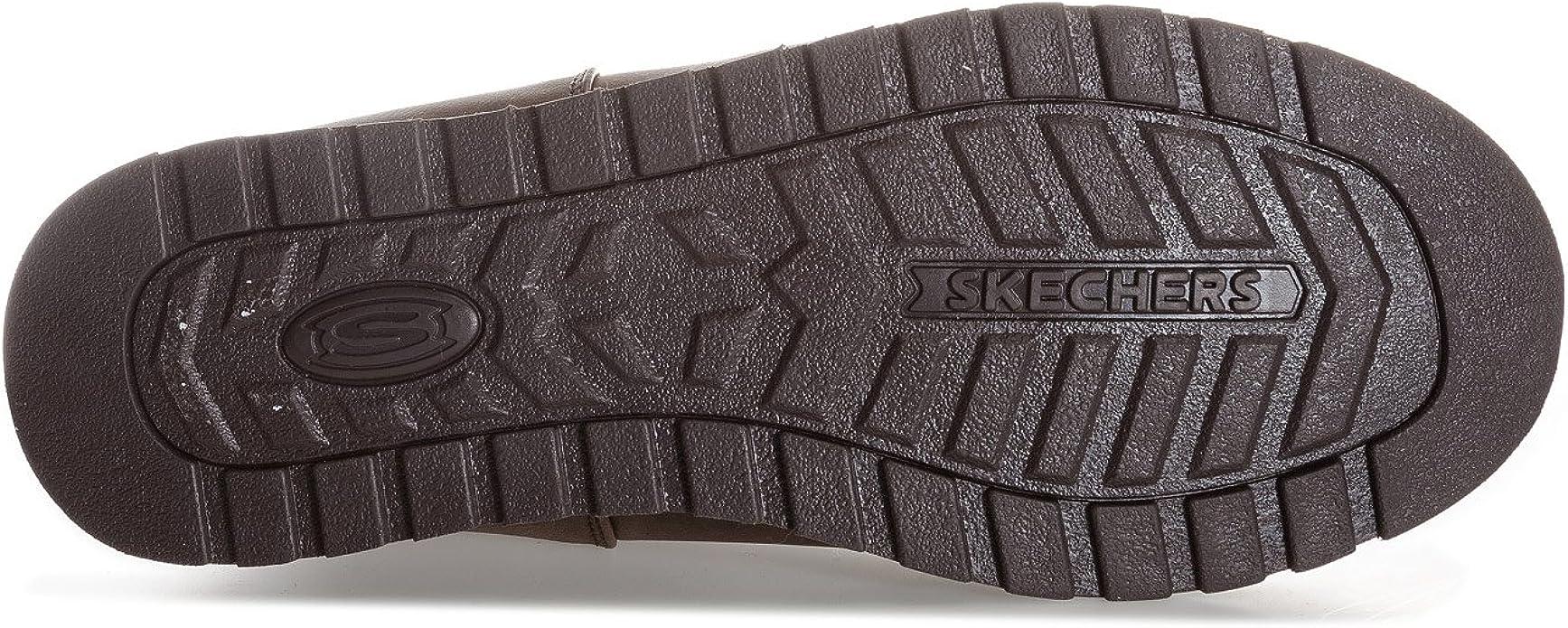 Skechers Keepsakes Leatherette Mid Button, Botte d'hiver