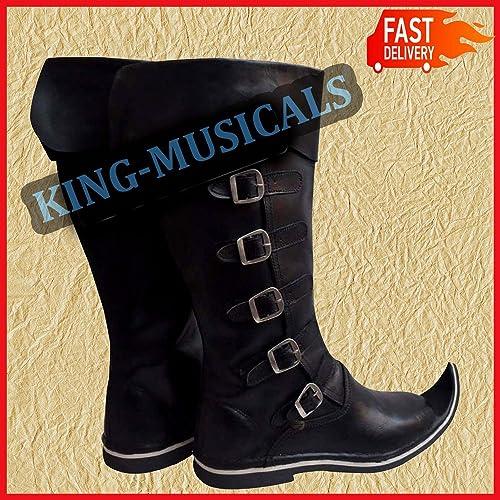 Medieval Renaissance Shoes Theater Costume Shoes SCA Reenactment Viking Shoes