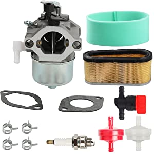 Harbot 699831 694941 Carburetor with Air Filter Tune Up Kit for Briggs & Stratton 28D700 28M700 28R700 28T700 28V700 289700 283702 283707 284702 284707 284777 286702 286707 Engine Lawnmover