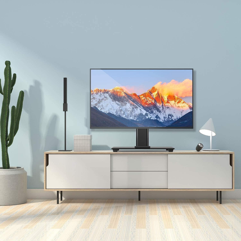 Perlegear Soporte para televisión de 26 – 55 Pulgadas, televisor o Monitor OLED, LCD, Plano y Curvo de hasta 40 kg, máx. VESA 400 x 400 mm: Amazon.es: Electrónica