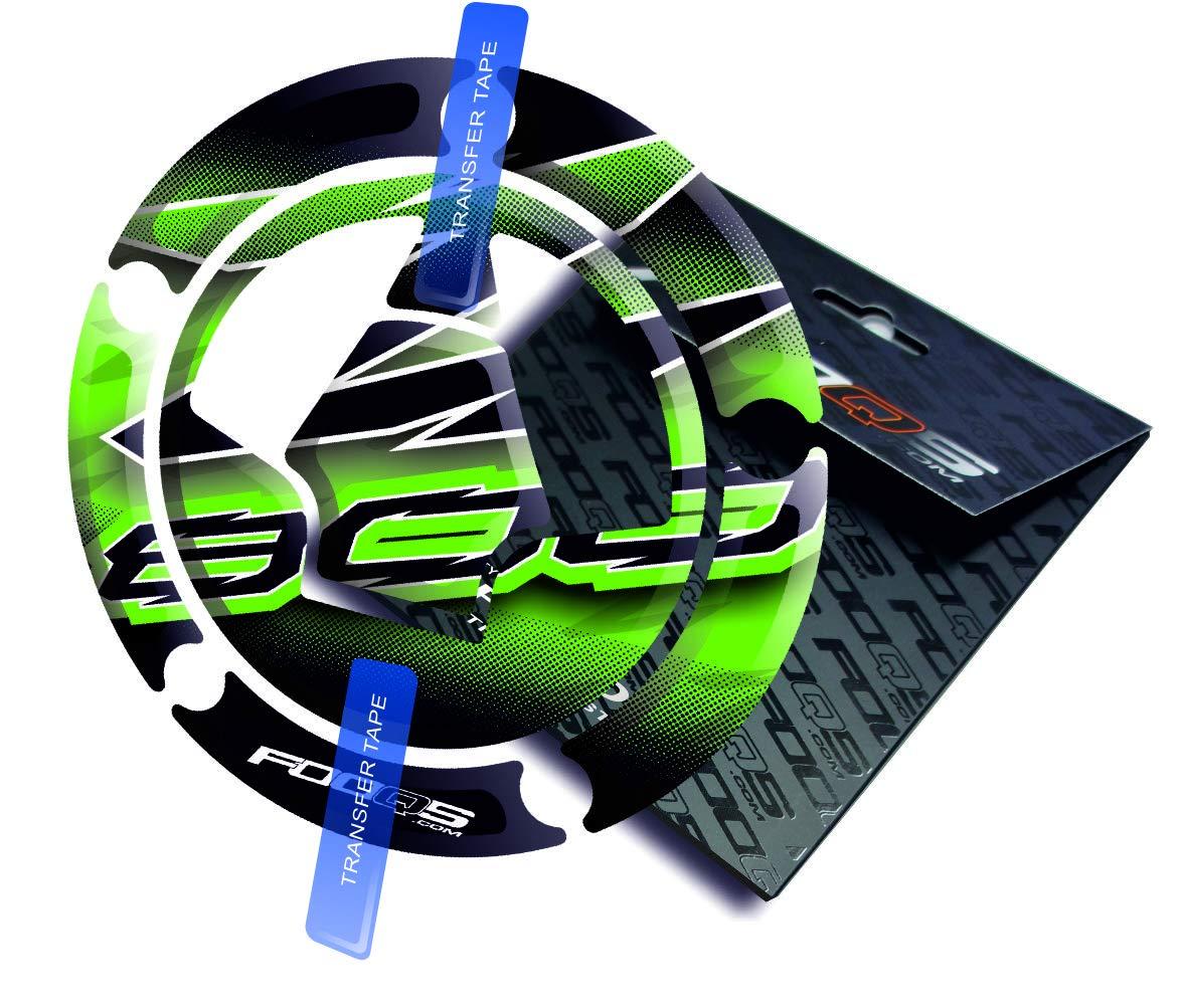 Cap Pad Cap-pad Cappad pegatina Cubierta Tankpad Tank pad Tranque de combustible de la motocicleta 3 d 3d Gel Decal Gas para Kawasaki Z800 Z 800 Verde