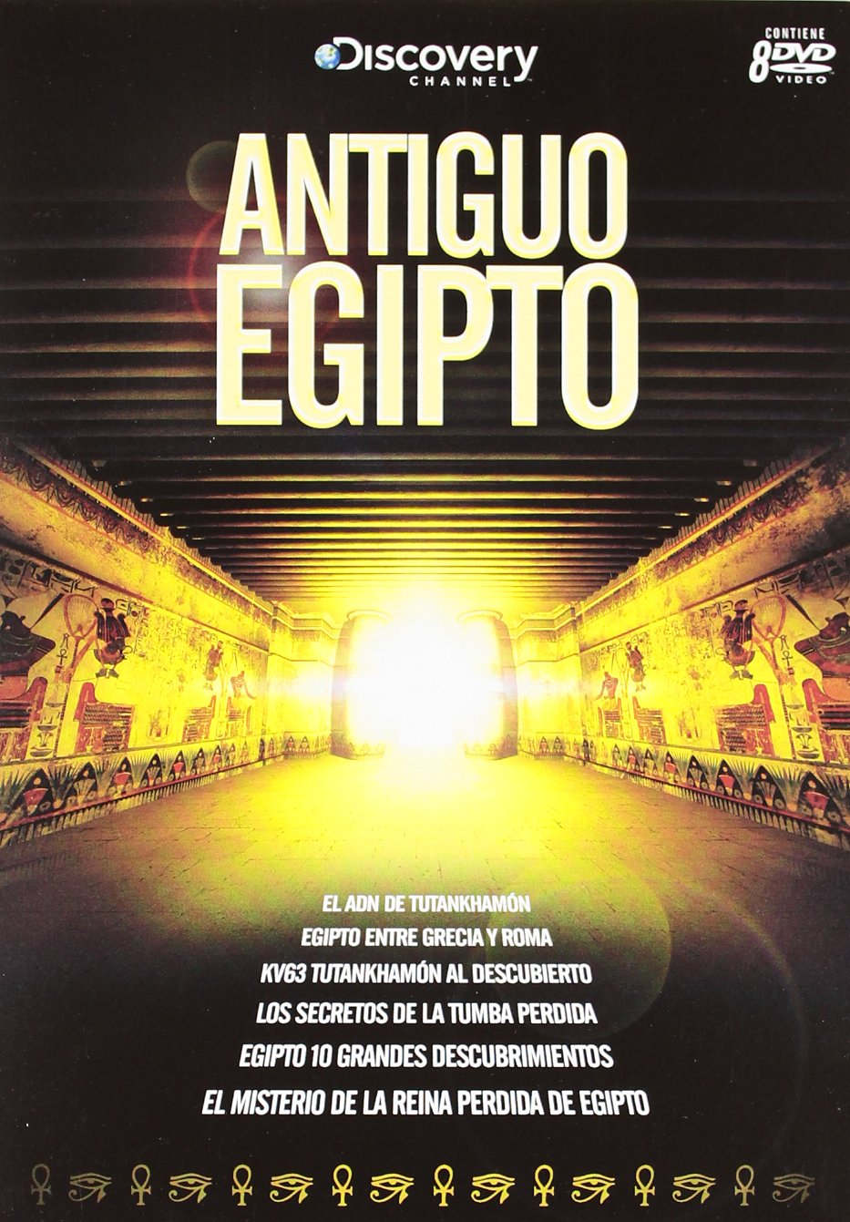 Pack Antiguo Egipto Discovery Chanel (8) [DVD]