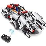 RC Car for Kids Engineering Toys, Educational STEM Gift for Boys & Girls, RC Racer Building Blocks Set, Creative…