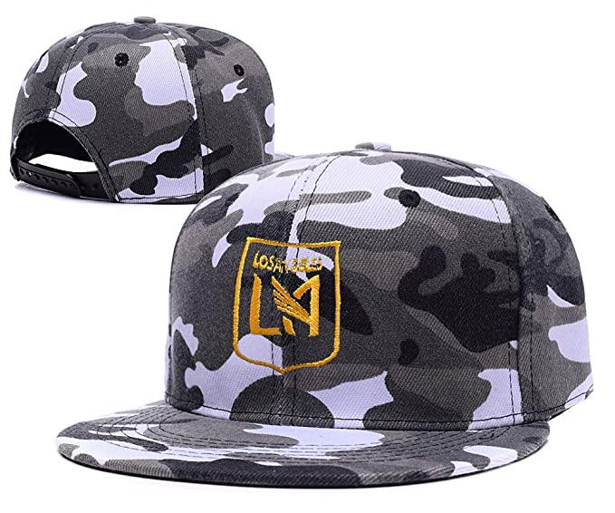 official photos 1272a 119d1 6a60d a5952  promo code for lifa los angeles fc football club camo cap  embroidery camouflage snapback hat d32e5