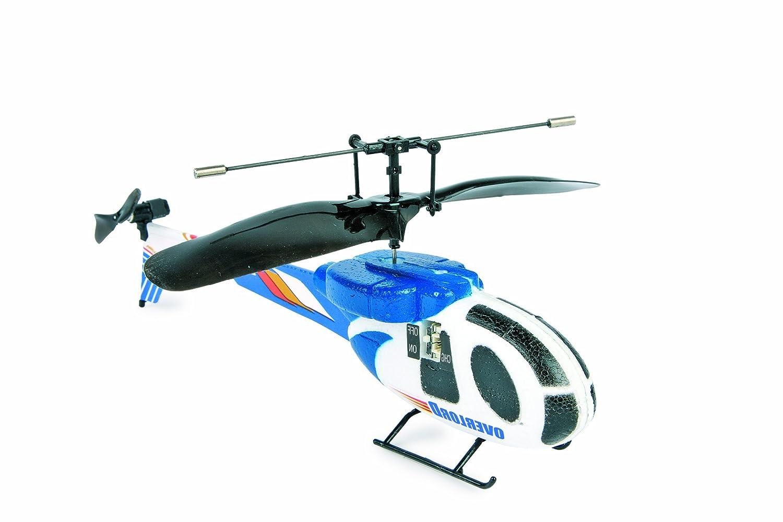 Helicóptero Infrarojo azul