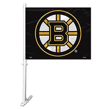 Amazon.com : NHL Boston Bruins Car Flag : Automotive Flags : Sports ...