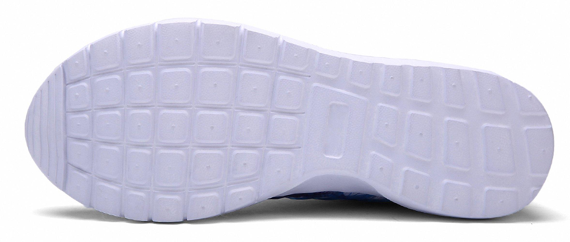 ZHENZHONG Women's Cool Fashion Sneakers Running Sport Shoes Blue for Walking Jogging by ZHENZHONG (Image #5)