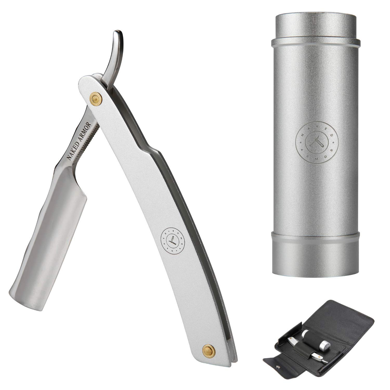 Straight Razor Travel Kit - Stainless Steel