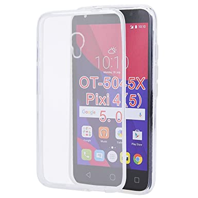 outlet store e6688 b4258 Alcatel Pixi 4 (5.0)OT-5045X Silicone Gel Back Case Cover For Alcatel Pixi  4 (5 Inch) OT-5045X Alcatel Pixi 4 5