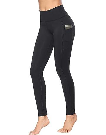 cdb5a16d7bc0d Fengbay High Waist Yoga Pants, Pocket Yoga Pants Tummy Control Workout  Running 4 Way Stretch