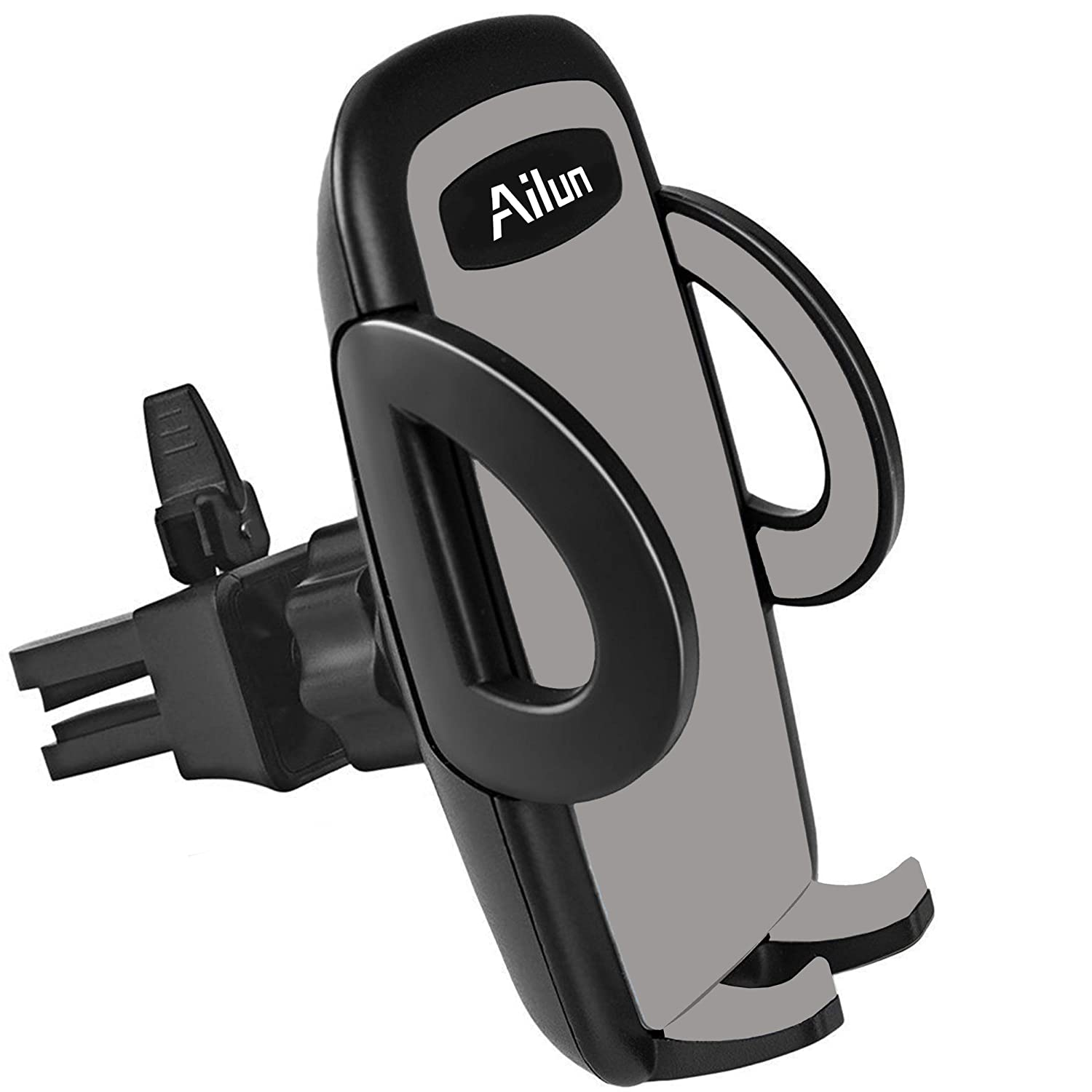 Ailun Car Phone Mount Air Vent Holder Cradle, Compatible iPhone X/Xs/XR/Xs Max, 8/8Plus/7, Galaxy S9/S9+ S8/S8+ S7/S7 Edge, Google, LG, HTC and More Smartphones[Black] Siania 4335022200