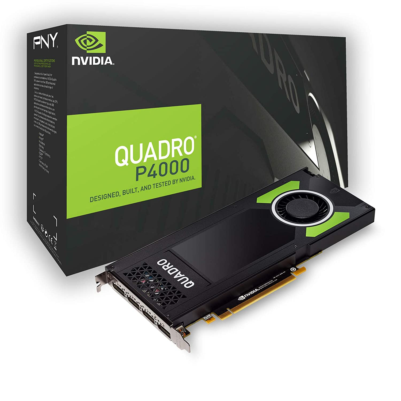 PNY NVIDIA QUADRO P5000 16 GB VR Ready Graphics Card - Black