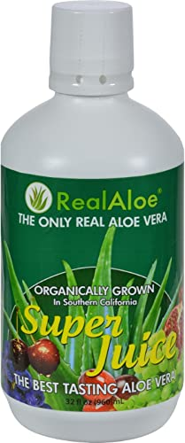 Real Aloe Aloe Vera Super Juice – 32 fl oz