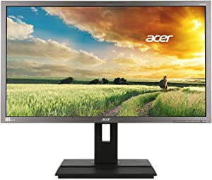 Acer LCD LED Widescreen Monitor, 28in Display, 4K UHD Screen,3840 x 2160 Black (Renewed)
