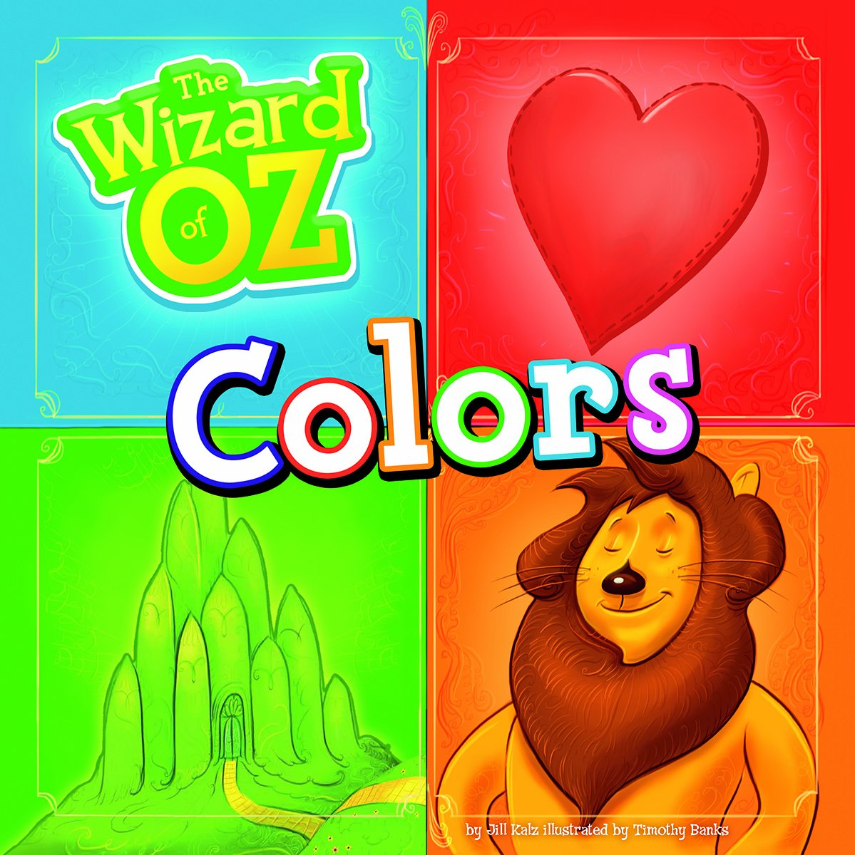 Amazon.com: The Wizard of Oz Colors (9781476537689): Jill Kalz ...