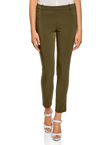 selezione migliore 6a09c defe1 oodji Ultra Donna Pantaloni Elasticizzati Stretti