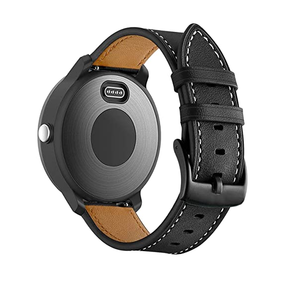 77e8dacf4 BIGTANG Compatible for Garmin Vivoactive 3 Watch Band, 20mm Genuine Leather  Watch Strap for Garmin