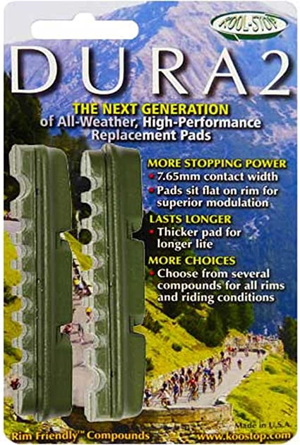 Kool-Stop Dura-Ace//Ultegra Replacement Brake Pad Inserts for Ceramic