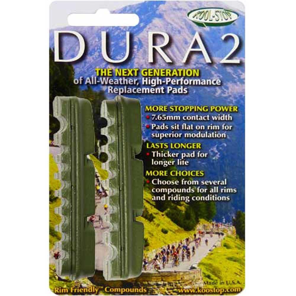 Ceramic Green 140604 Kool Stop Dura-2 Replacement Brake Pad
