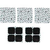 FITOP 20 Almohadillas Electrodos Para Compatible Con Compex