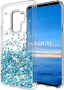 KOUYI Funda Galaxy S9 Plus, Brillo Brillante Liquida Claro ...