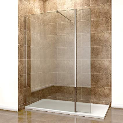 Walk In Shower With Flipper Panel.Elegant 760mm Easy Clean Glass Wetroom Shower Screen With 300mm Flipper Panel 1200x700mm Stone Walk In Shower Enclosure Tray And Waste