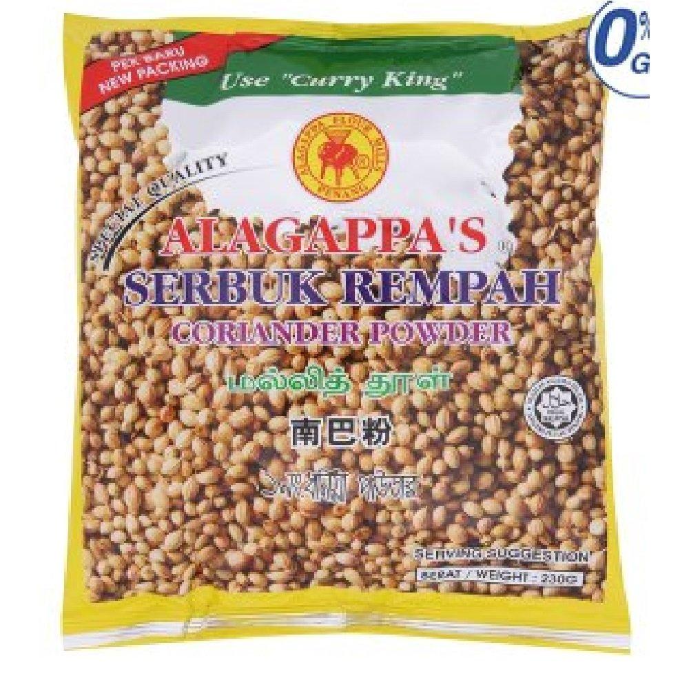 Alagappa's Coriander Powder 230g (628MART) (3 Packs)