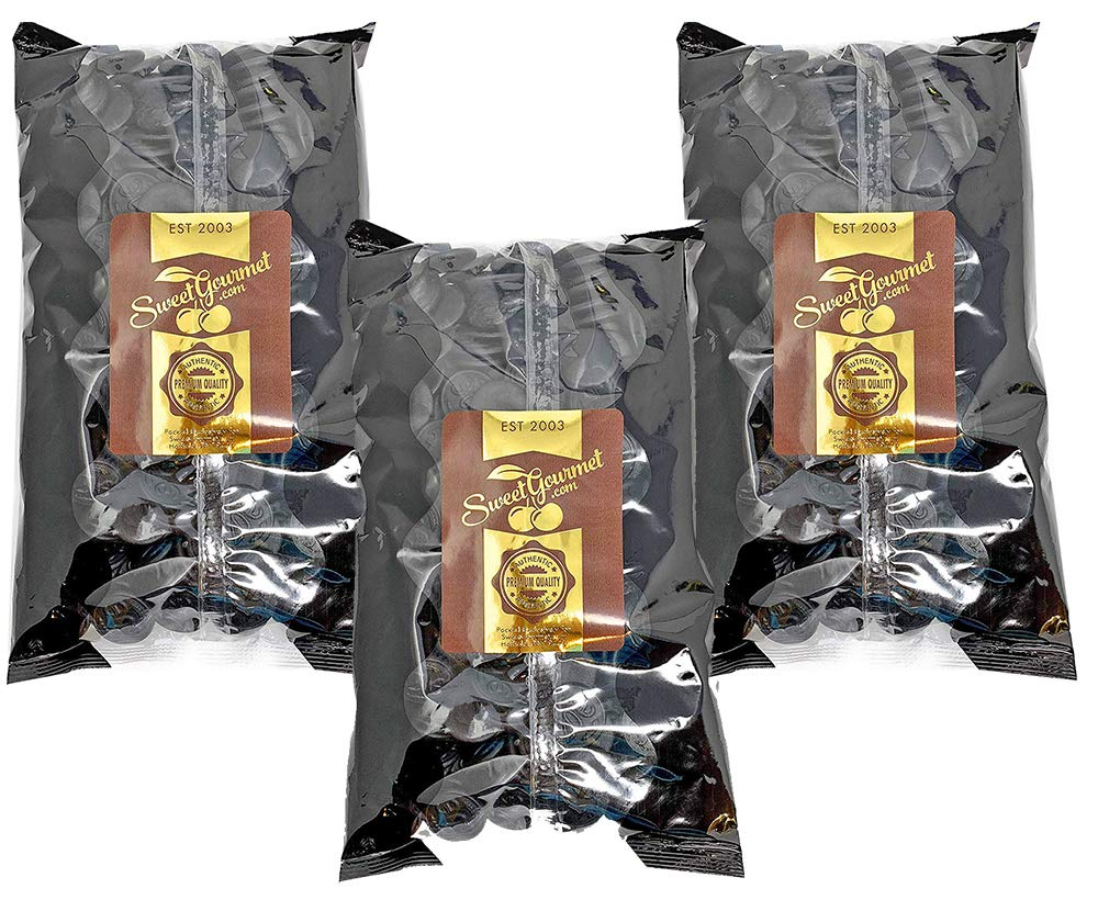 Gustaf's Premium Dutch Licorice | Salted Licorice Coins | Bulk Candy | 6.6 pounds (3kg)