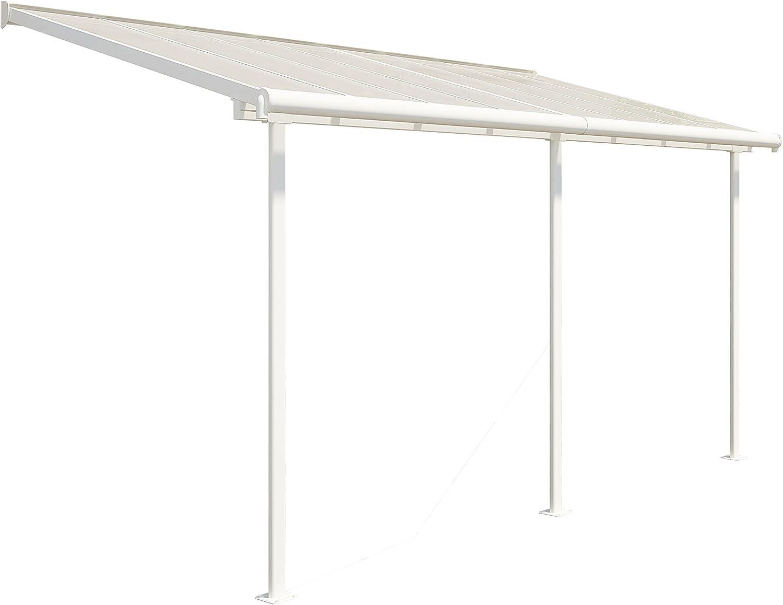 Cadena de Aluminio prikker-überdachungen, Techo, balcón, terraza techo Sierra 230x 460cm (TXB): Amazon.es: Jardín