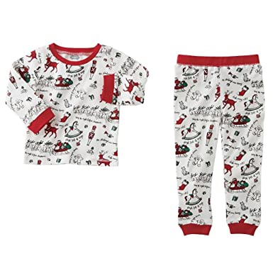 Amazon.com  Mud Pie Unisex Very Merry Christmas Pajamas (Infant ... e3f86d848