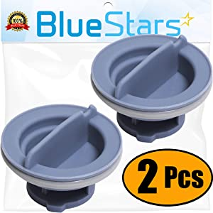 [UPGRADED] Ultra Durable 8558307 Dishwasher Dispenser Cap Replacement Part by Blue Stars – Exact Fit For Whirlpool & Kenmore Dishwashers - Replaces 8193984 8539095 PS11746426 AP6013204 - PACK OF 2