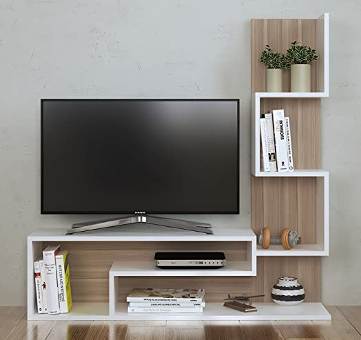 MIMOSA Wall Unit   TV Lowboard   TV Stand   Living Room Furniture Set In  Modern Part 46