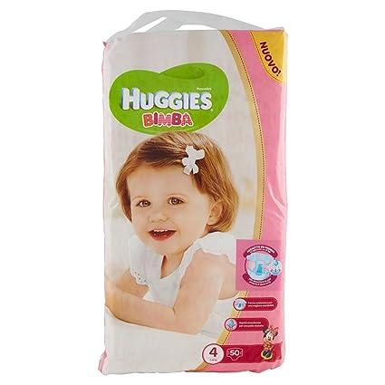 Huggies - Bimba - Pañales - Talla 4 (7-18 kg) - 50