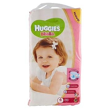 Huggies - Bimba - Pañales - Talla 4 (7-18 kg) - 50 pañales: Amazon.es: Salud y cuidado personal