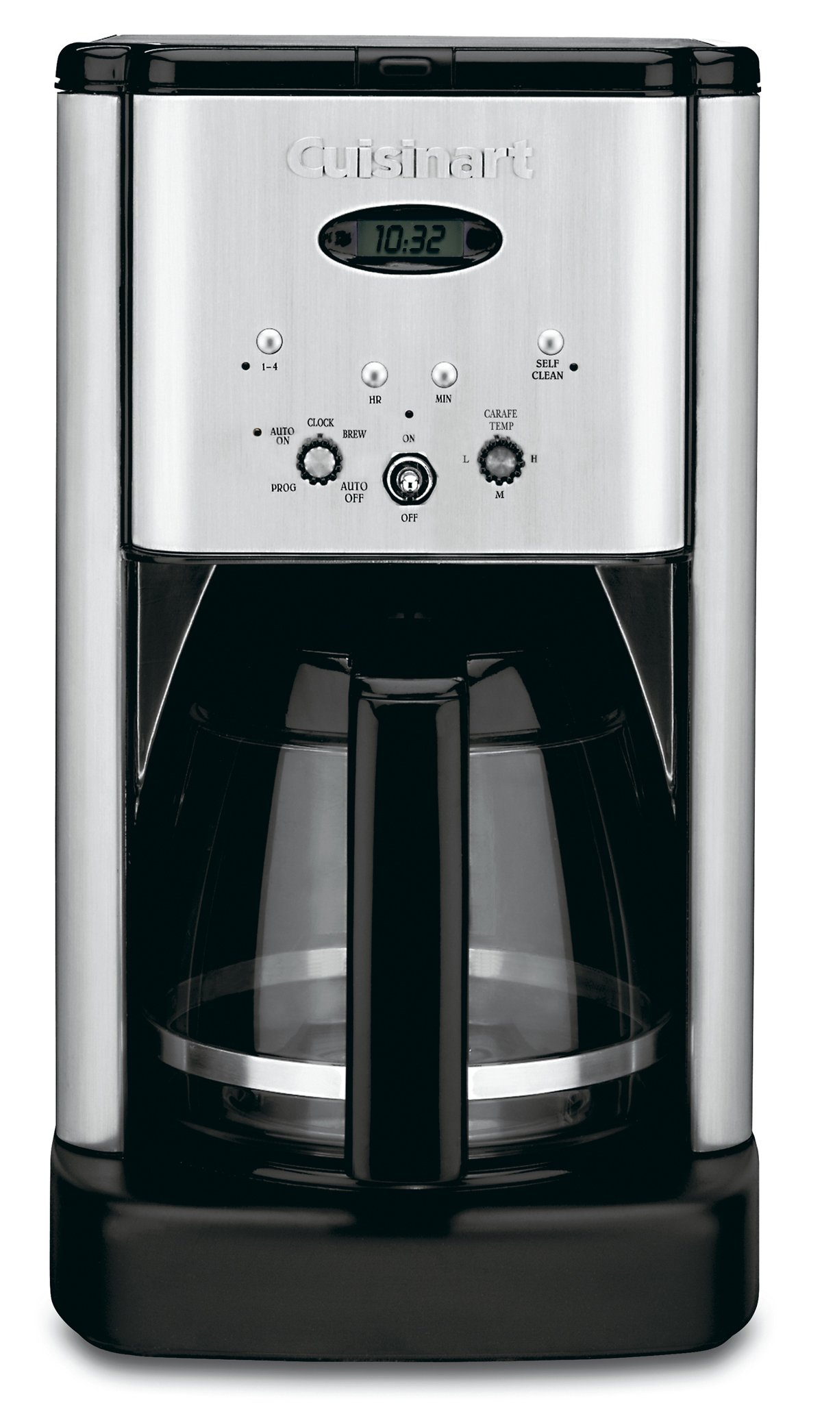 Cuisinart DCC-1200 Brew Central 12 Cup Programmable Coffeemaker, Black/Silver by Cuisinart