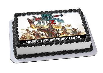 EdibleInkArt H1Z1 Battle Royale Edible Cake Topper