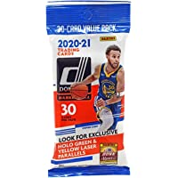 $33 » 2020-21 Panini NBA Donruss Basketball Cello Pack - 1 Pack of 30 Cards