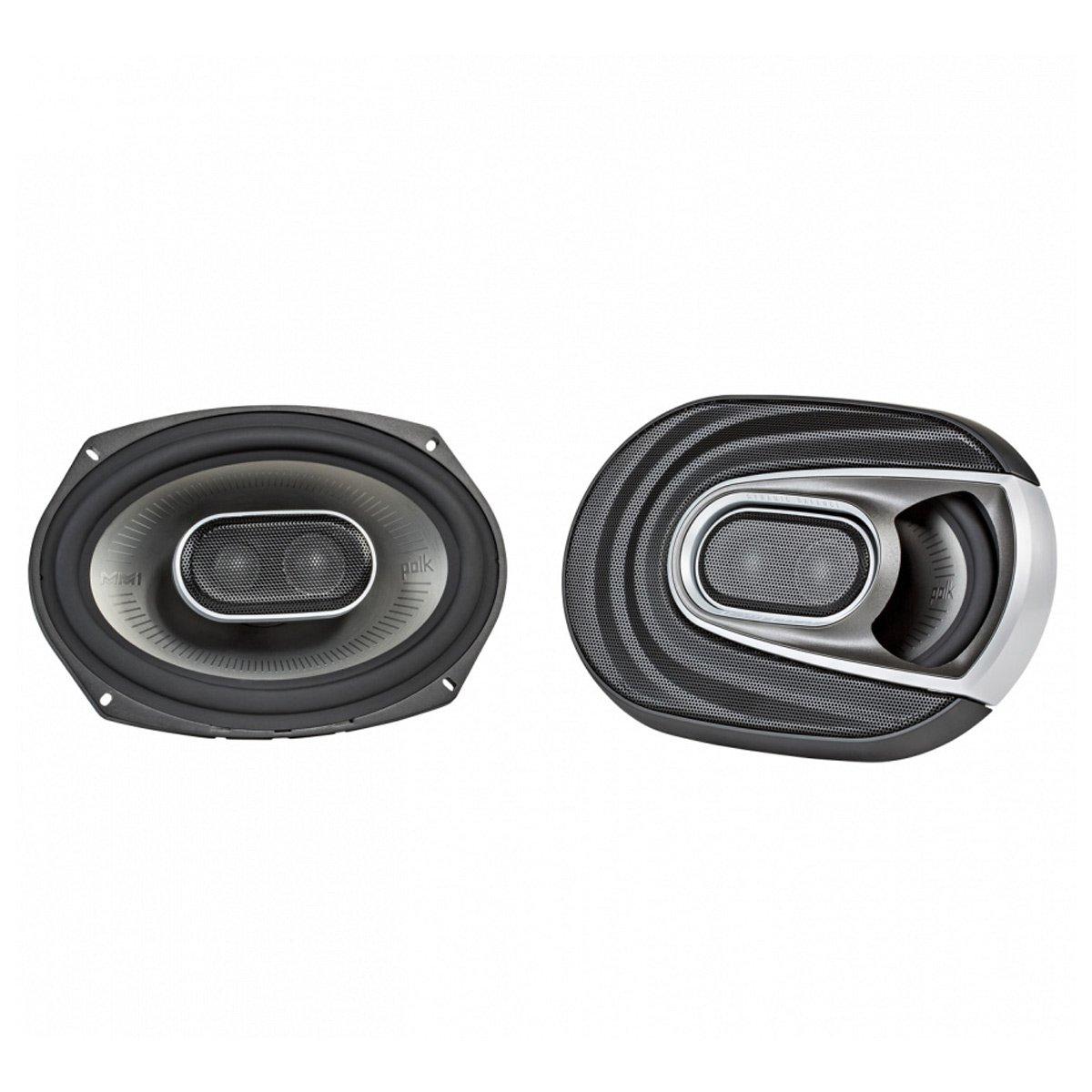Polk Audio MM1 Series 6x9 Inch 450W Coaxial Marine Boat ATV Car Audio Speakers