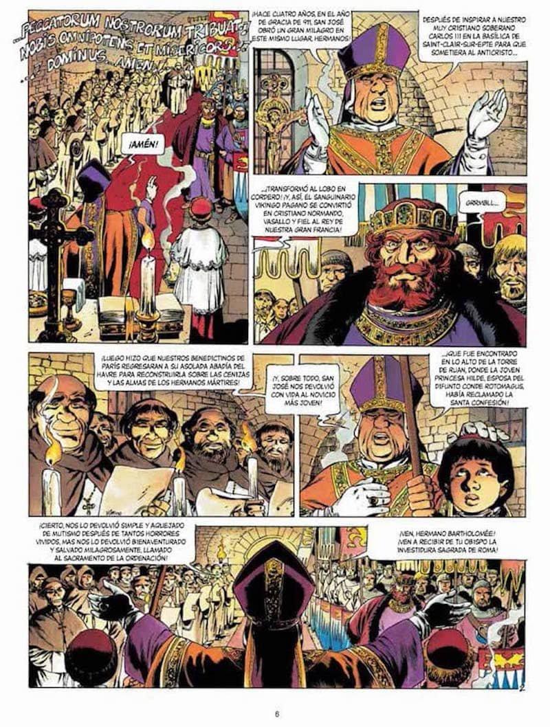 Crónicas bárbaras 02: el último vikingo: JEAN-YVES/ BONNET ...