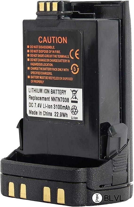 NNTN7038 3100mAh Battery for Motorola APX6000 APX7000 APX8000 SRX2200 Handheld