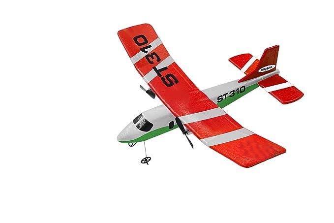 Elektrisches Spielzeug RC Flugzeug ST310 Ferngesteuert Lipo-Akku 2CH 2.4 GHZ  Top Qualität 012300