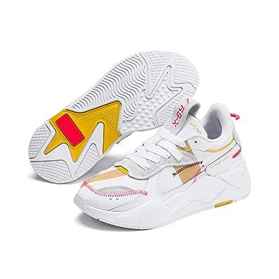 PUMA RS X Proto Wns Damen Low Boot Sneaker Weiss: Amazon.es