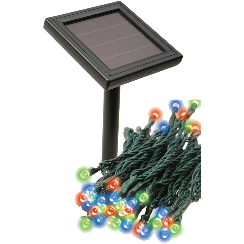 RETHINK 155014 Multicolored Solar String Lights - - Amazon.com
