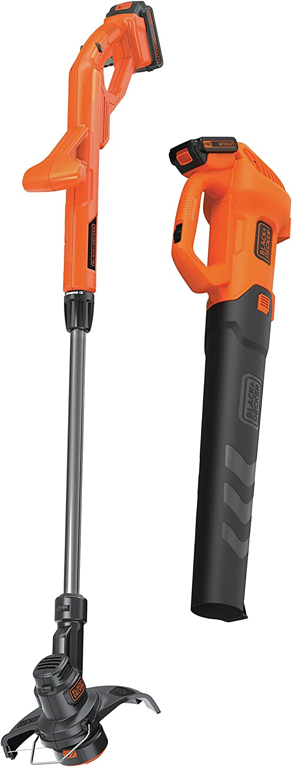 BLACK+DECKER BCK279D2 20V MAXAxial Leaf Blower and String Trimmer Combo Kit