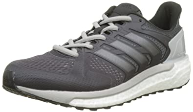 wholesale dealer 0ab6d 18b43 adidas Damen Supernova ST Laufschuhe Grau (Grey FiveNight MetallicCore  Black)