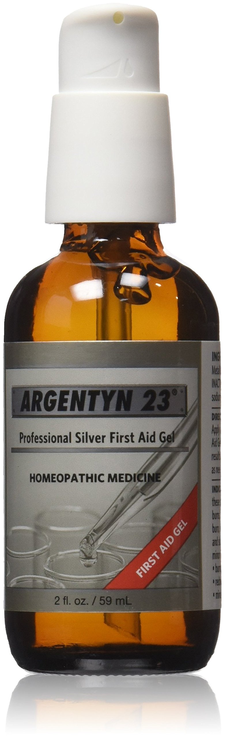 Argentyn 23 Professional Silver First Aid Gel -- 2 fl oz