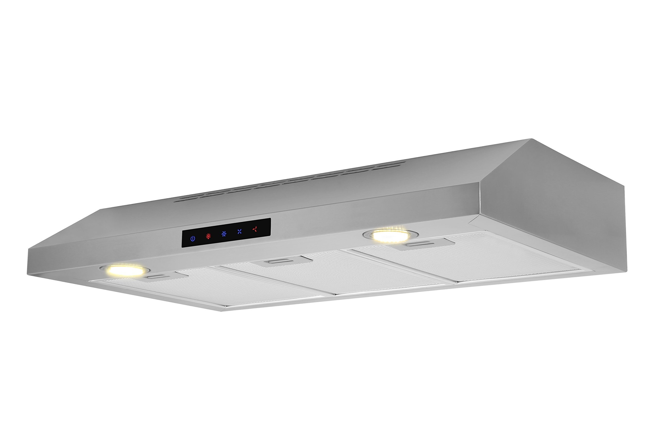Kitchen Bath Collection WUC75-LED Stainless Steel Under-Cabinet Range Hood, 30'' by Kitchen Bath Collection