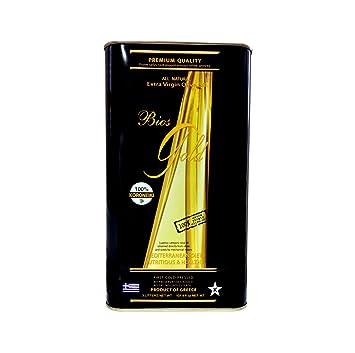 Bios Gold Extra Virgin Greek Olive Oil (3L Tin / 101 4oz)