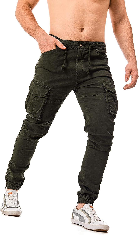 Instinct Pantaloni Cargo Uomo con Tasche Laterali Tasconi LW