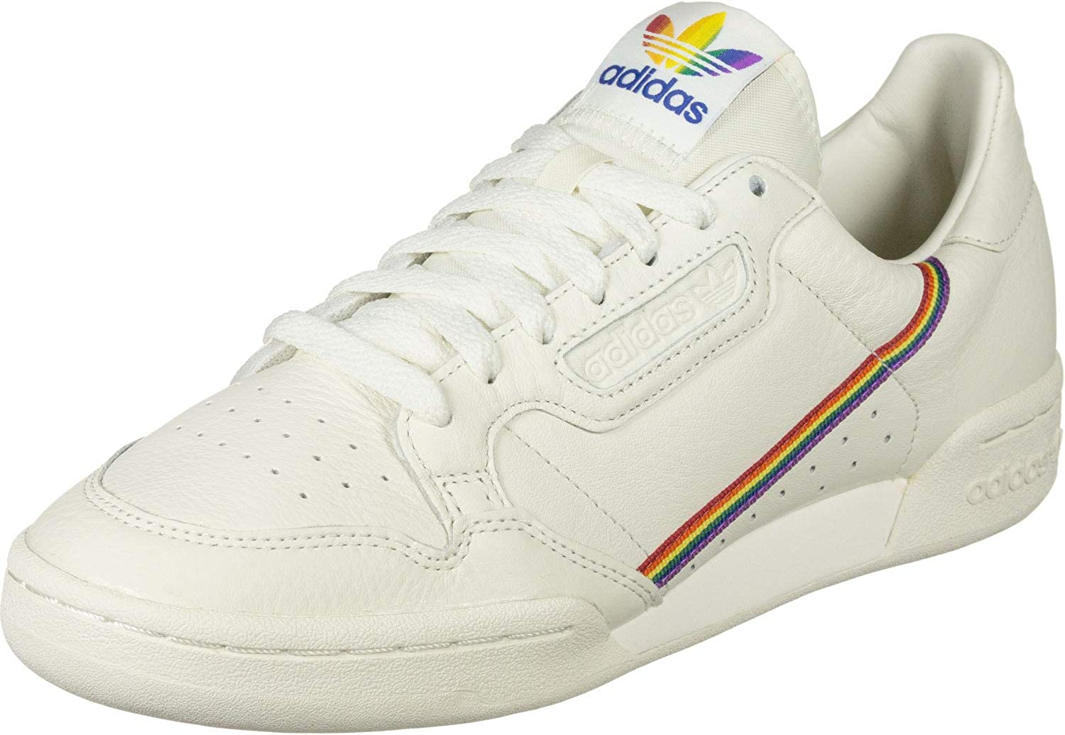 Adidas Continental 80 Pride Triple Off White: Amazon.fr ...